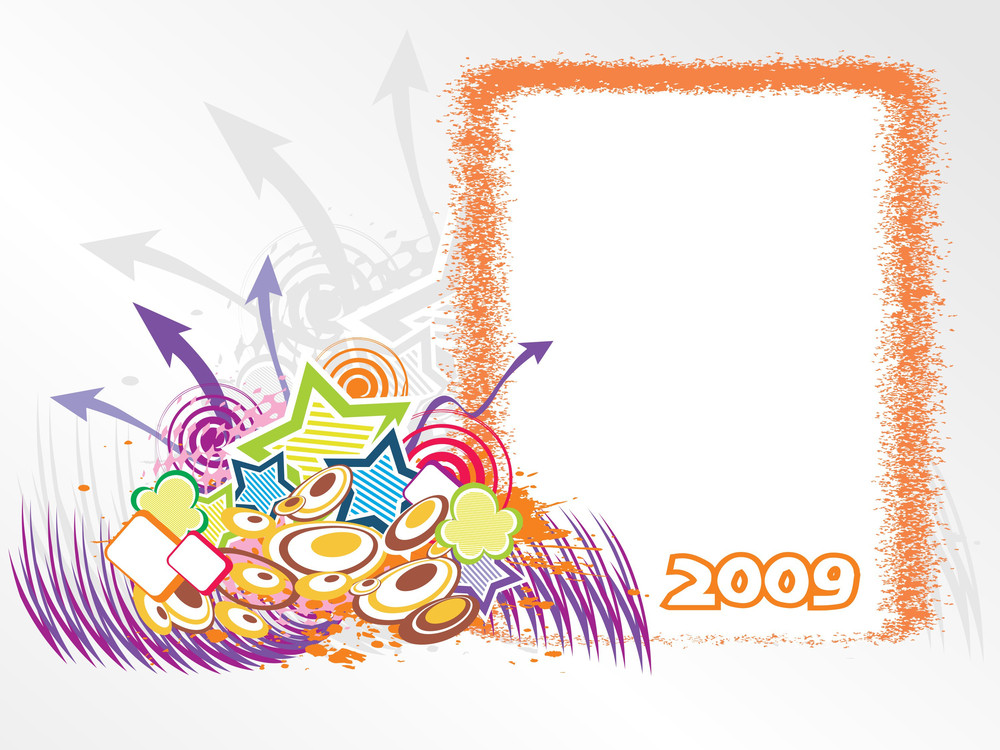 Year 2009 Creative Frame Design7