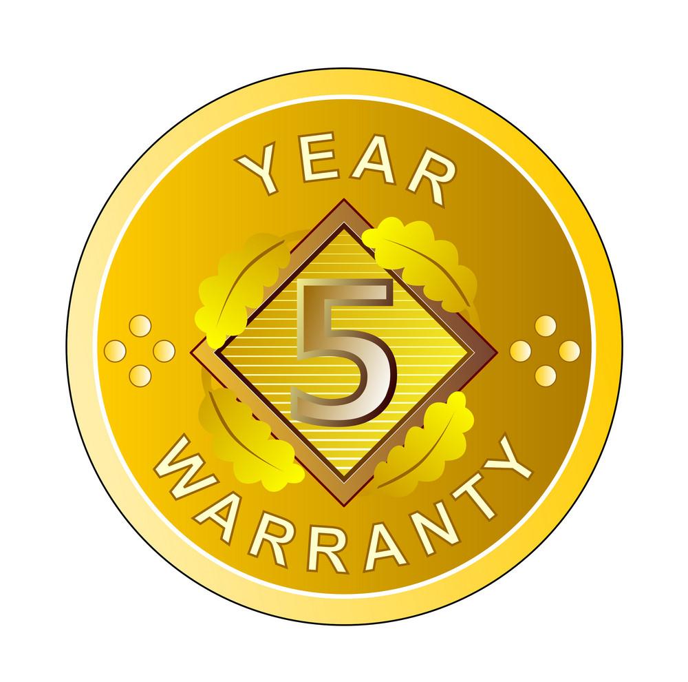 Year 5 Warranty