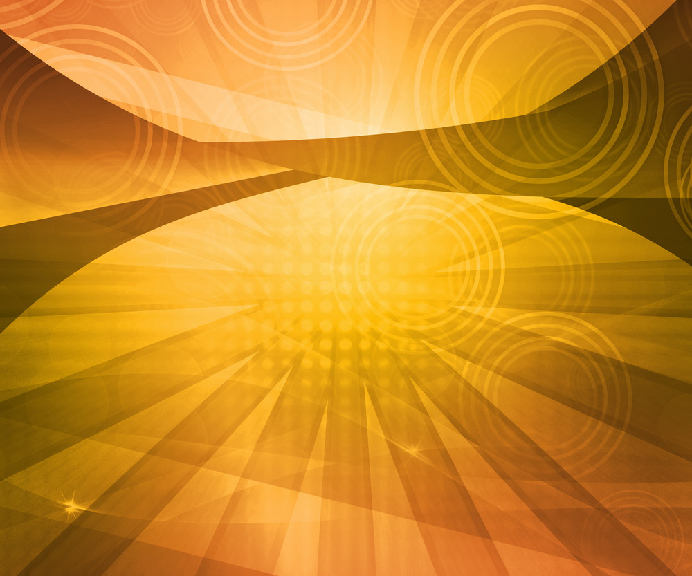 Yellow Abstract Background Image
