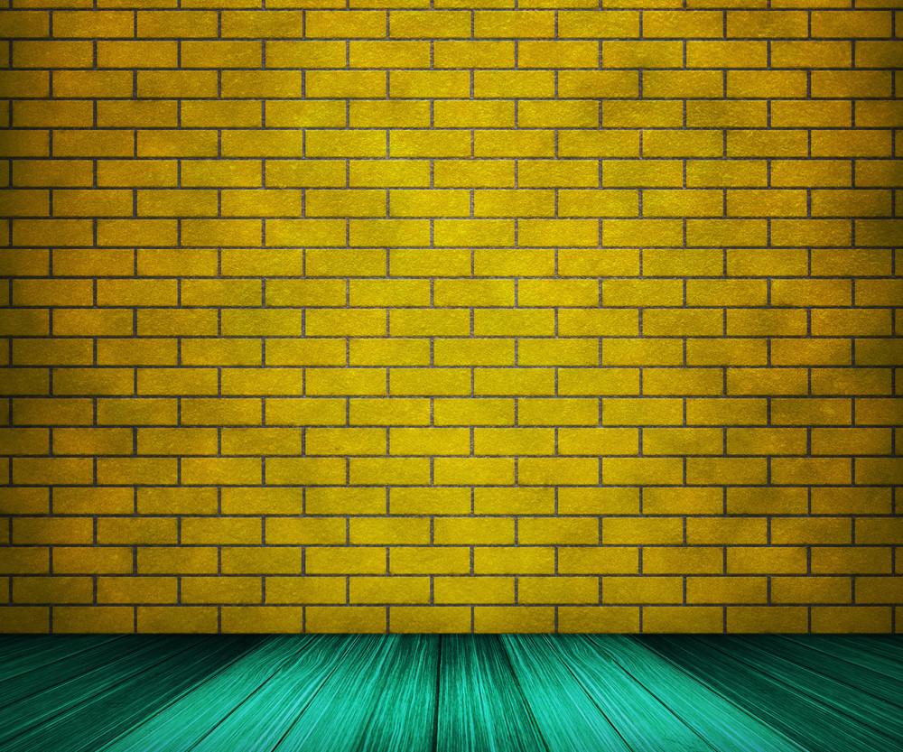 Yellow Brick Room Backdrop