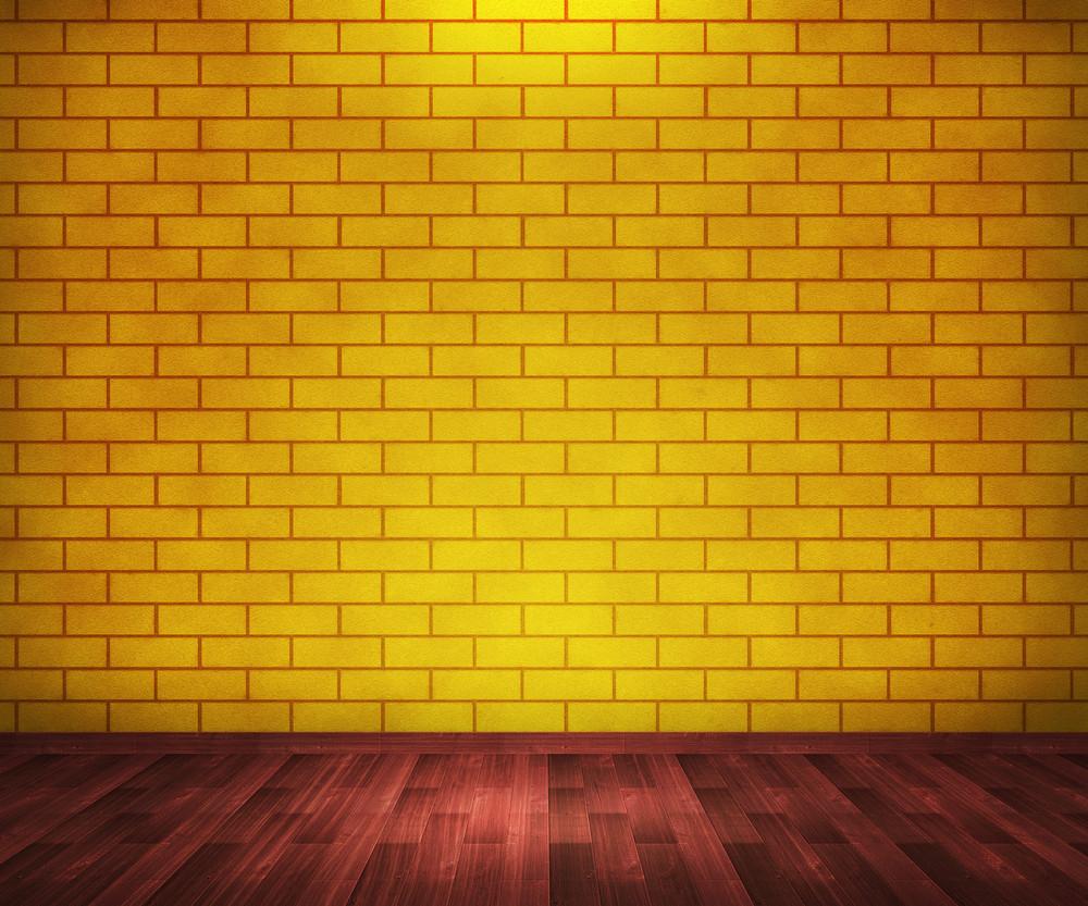 Yellow Brick Room Background