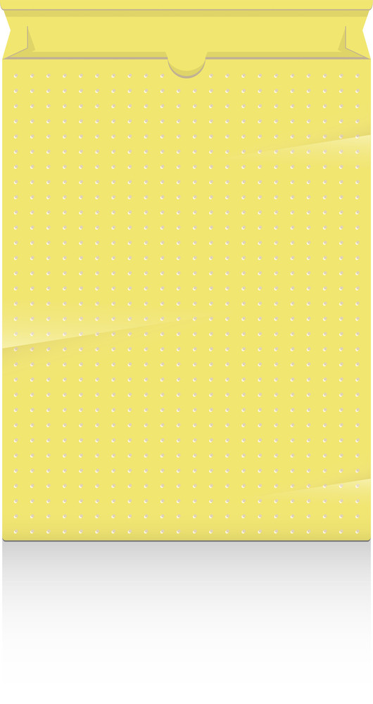 Yellow Dotted Box Vector