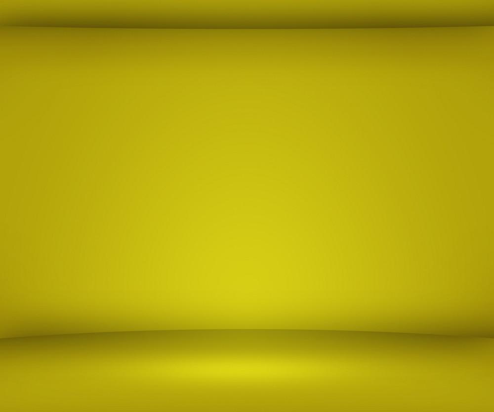 Yellow Empty Spot Background