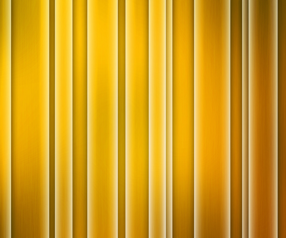 Yellow Glowing Stripes Background