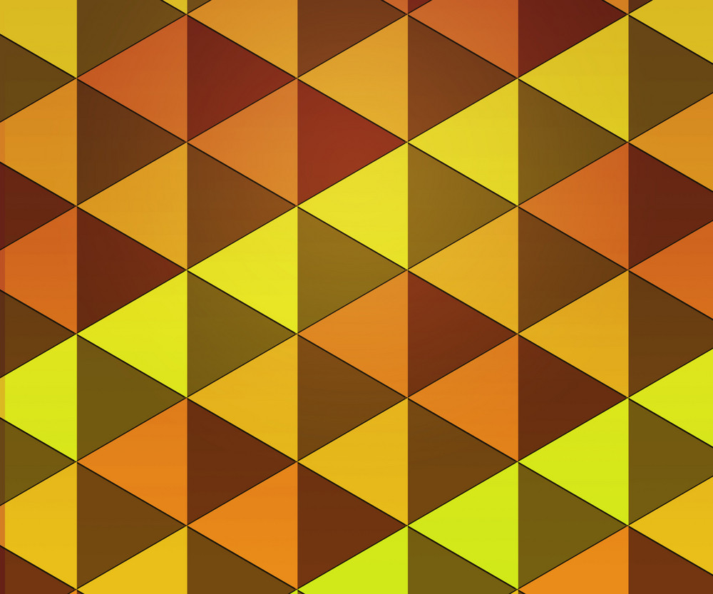 Yellow Hipster Background Texture