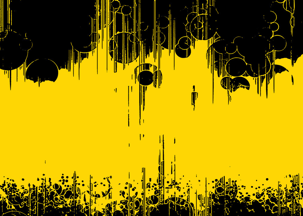 Yellow Modern Background