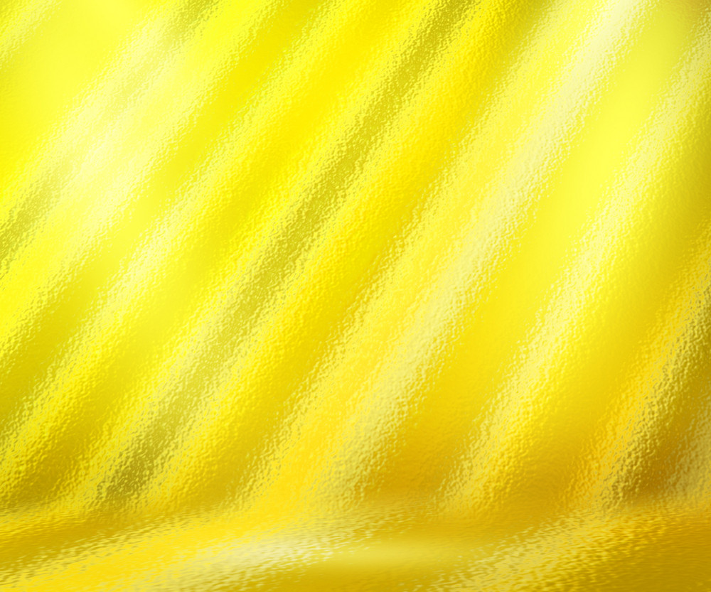 Yellow Spotlight Abstract Background