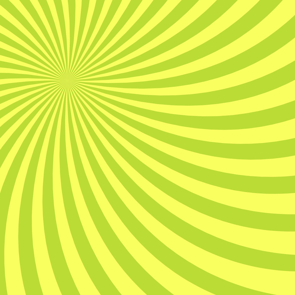 Yellow Striped Sunburst