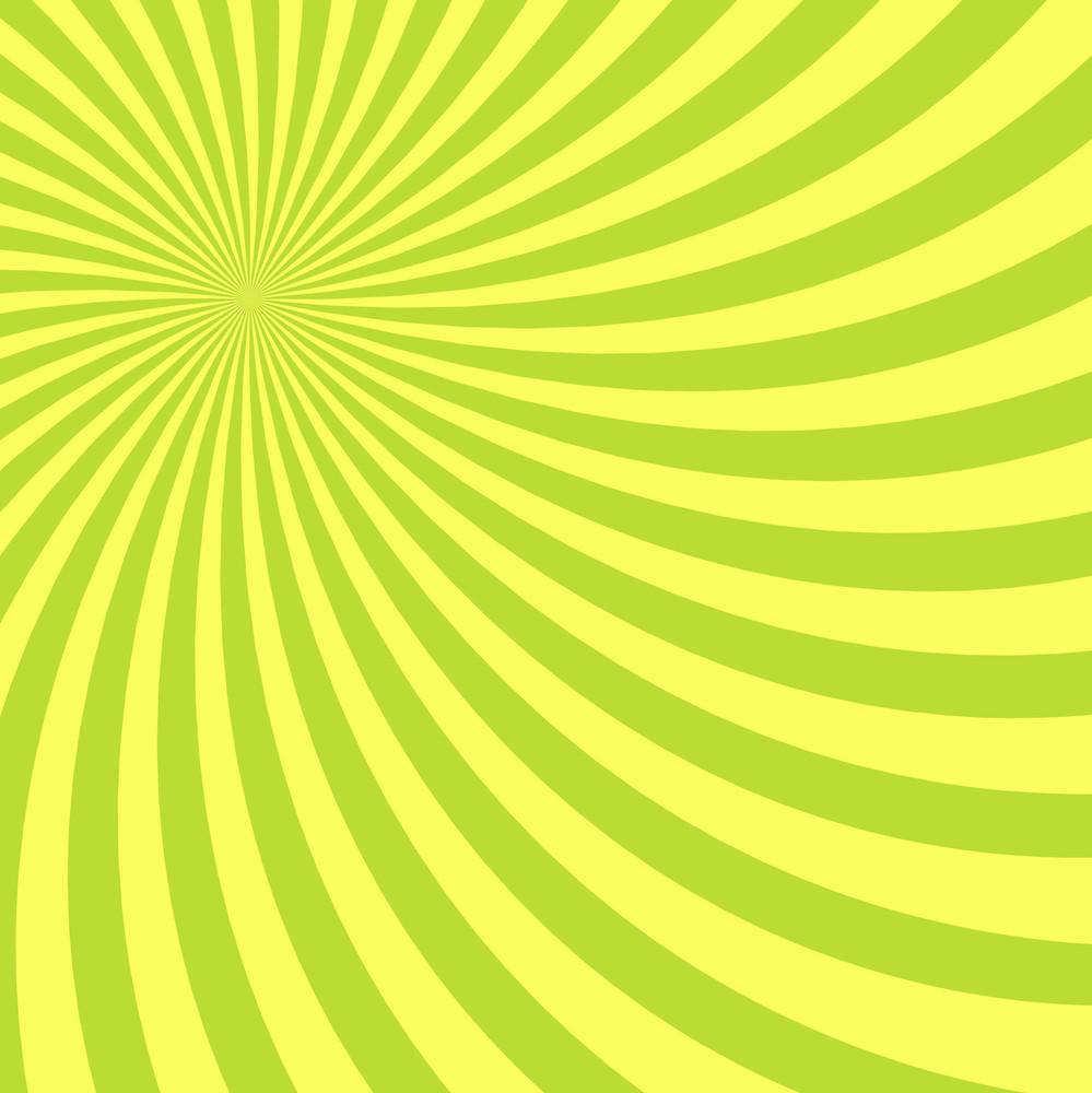 Yellow Striped Sunburst