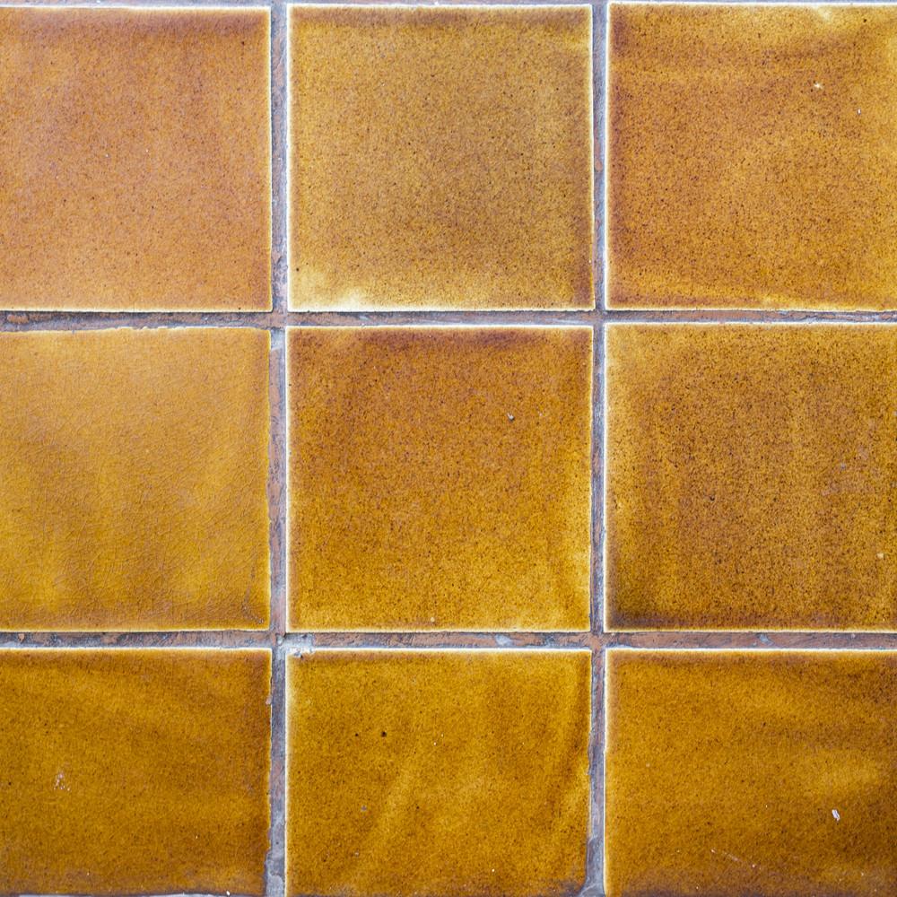 Yellow tile asian style