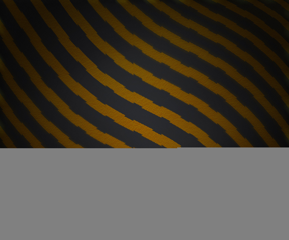Yellow Urban Striped Background