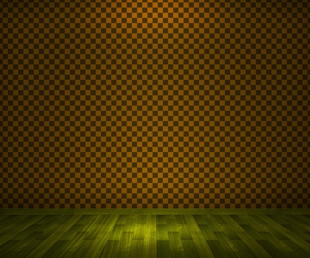 Yellow Vintage Room Background