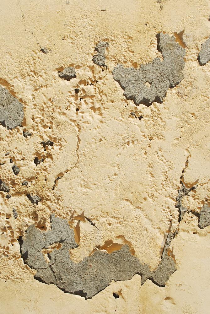 Yellow Wall Peeling