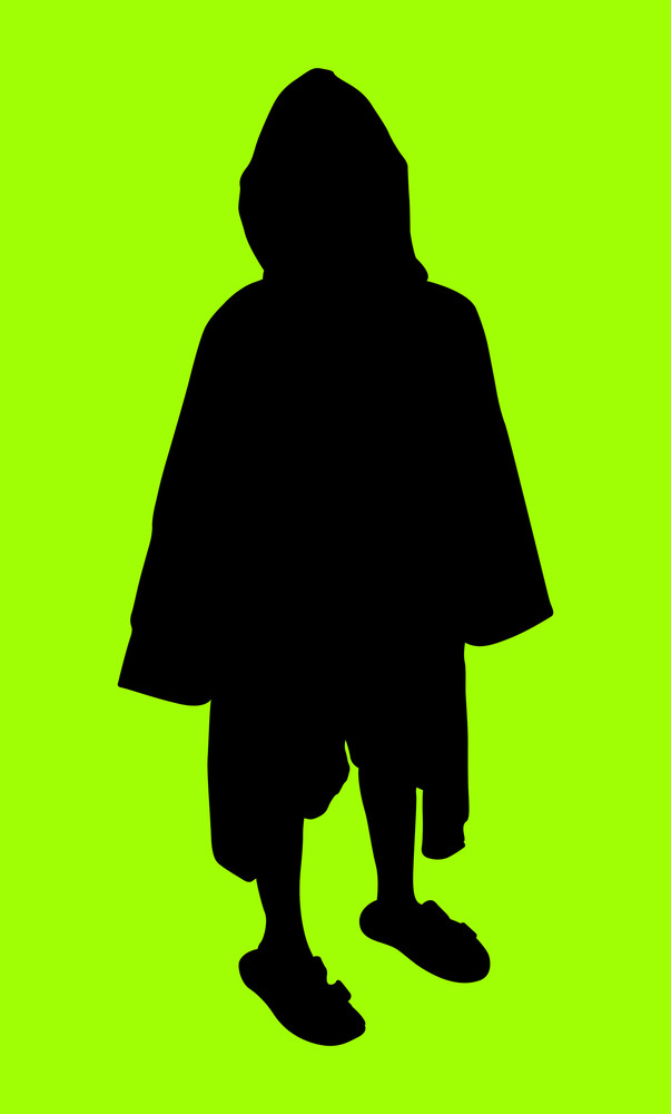 Young Kid Silhouette