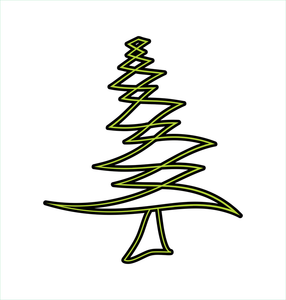 Zig Zag Christmas Tree