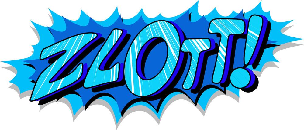 Zlott- Comic Expression Vector Text