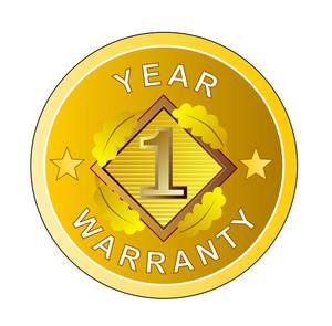 1 Year Warranty In Circle