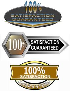 100% Satisfaction Guaranteed