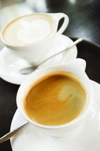 2 Cup Hot coffee