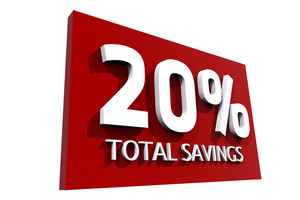 20 Percent Saving