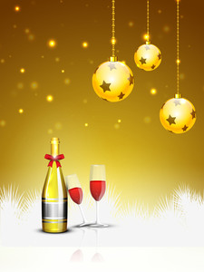 2013 New Year Party Background