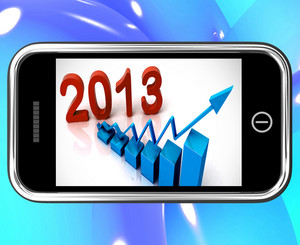 2013 Statistics On Smartphone Showing Future Progression
