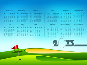 2013 Year Calender