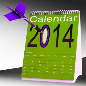 2014 Calendar Shows Future Target Plan