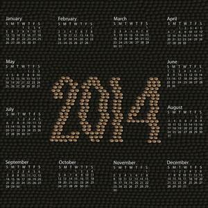 2014 Calendar Snake Skin