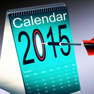 2015 Calendar Shows Future Target Plan