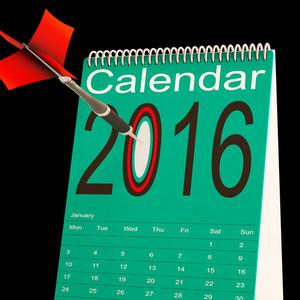 2016 Calendar Means Future Target Plan