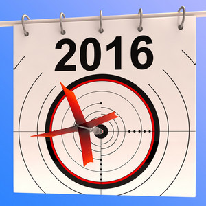 2016 Calendar Target Shows Planning Annual Agenda