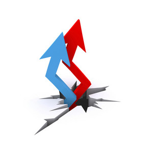 3d Arrows Pointing
