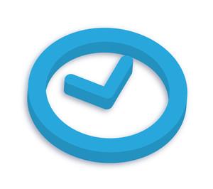 3d Clock Icon
