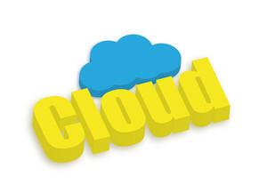3d Cloud Banner