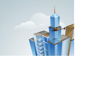 3d Concept Of Building Construction Architecture Designing Concept
