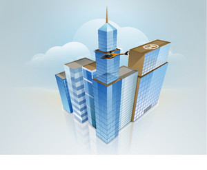 3d Concept Of Building Construction Architecture Designing Concept