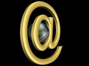 3d E-mail Sign