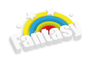 3d Fantasy Rainbow