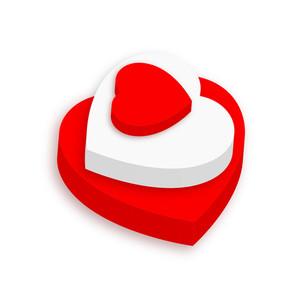 3d Heart Cake