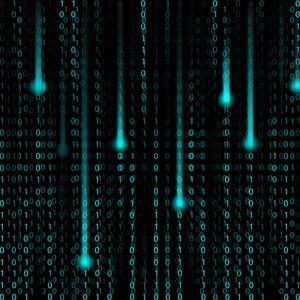 3d Matrix Background