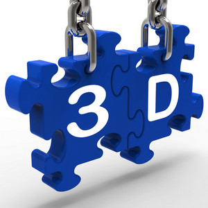 3d Means 3dimensional High Definition Entertainment Vision