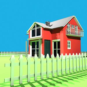 3d Model - Home