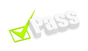 3d Pass Text
