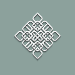 3d Pattern In Arabic Style