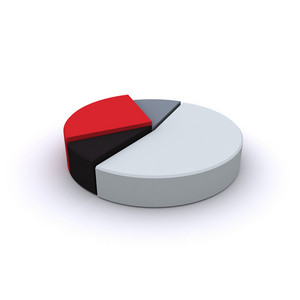 3d Pie Chart Illustration