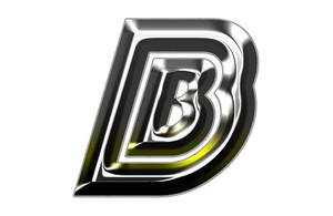 3d Silver Font