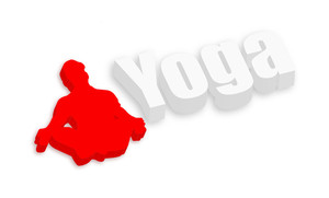 3d Yoga Man Shape
