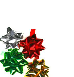 4 Christmas Bows