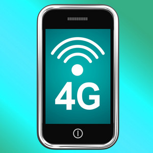 4g Internet Connected On Mobile Phone